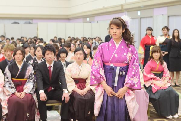 第24回卒業証書/学位授与式が挙行されました。